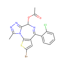 Brotizolam, M (hydroxy-), acetylated