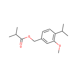 3-Methoxy-cuminyl isobutyrate