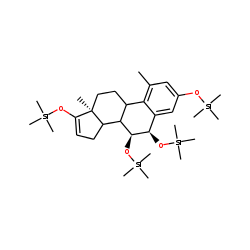 1-Methyl-6.alpha.,7.alpha.-dihydroxyestrone, TMS