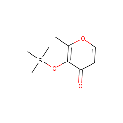 3-Trimethylsilyloxy-2-methylpyran-4-one