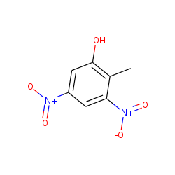 Phenol, 2-methyl-3,5-dinitro-