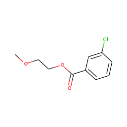 3-Chlorobenzoic acid, 2-methoxyethyl ester