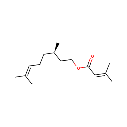 Citronellyl 3-methyl-2-butenoate