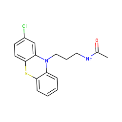 Chlorpromazine M (bis-nor-), acetylated