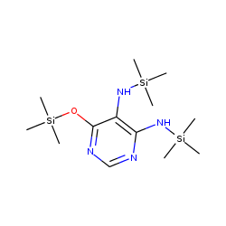 Pyrimidine, 5,6-diamino-4-hydroxy, TMS