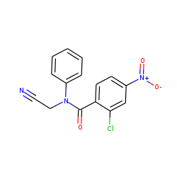 Benzamide, 2-chloro-n-cyanomethyl-4-nitro-n-phenyl-