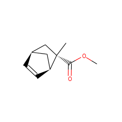 exo-Bicyclo[2.2.1]hept-5-en-2-carboxylic acid, 2-methyl, methyl ester