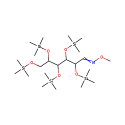 D-(+)-Mannose, pentakis(trimethylsilyl) ether, methyloxime (syn)