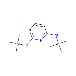 4-Pyrimidinamine, N-(trimethylsilyl)-2-[(trimethylsilyl)oxy]-