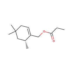 .beta.-Isocyclolavandulyl propionate