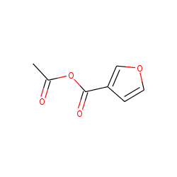 3-Furoic acid, anhydride with acetic acid - Chemical