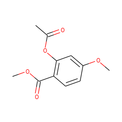 Methyl 2-hydroxy-4-methoxybenzoate, acetate