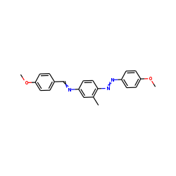 M-toluidine, n-(p-methoxybenzylidene)-4-(p-methoxyphenylazo)-