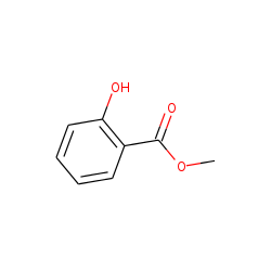 Benzoic acid, 2-hydroxy-, methyl ester
