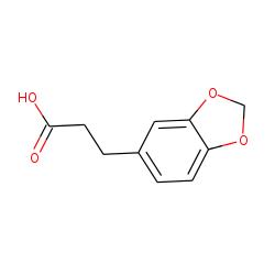.BETA.(3,4-methylenedioxyphenyl)propionic acid
