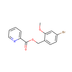 Pyridine-2-carboxylic acid, 4-bromo-2-methoxybenzyl ester