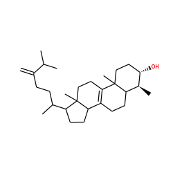 4-.alpha.,24-Dimethylcholest-8,24(28)-dien-3-.beta.-ol