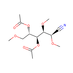 Glucose, 2,3,6-trimethyl, nitrile, acetylated