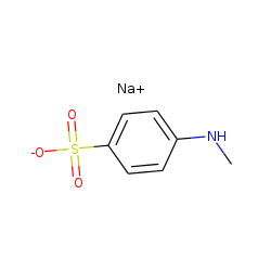 Sulfanilic acid, n-methyl-, sodium salt