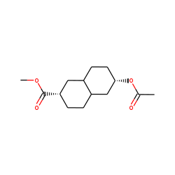 2«beta»-acetoxy-6«beta»-methoxyformyl-trans-decalin