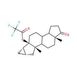 6.beta.-Hydroxy-3.alpha., 5.alpha.-cycloandrostan-17-one, TFA