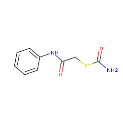 Alpha-mercaptoacetanilide carbamate