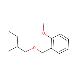 2-Methoxybenzyl alcohol, 2-methylbutyl ether