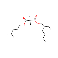 Dimethylmalonic acid, 2-ethylhexyl isohexyl ester