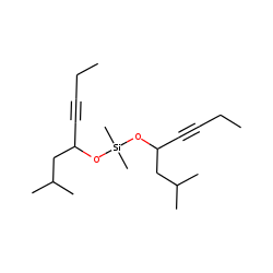 Silane, dimethyldi(2-methyloct-5-yn-4-yloxy)-