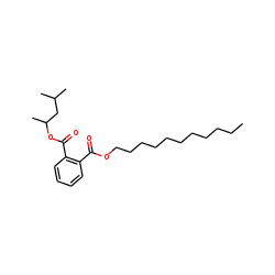 Phthalic acid, 4-methylpent-2-yl undecyl ester