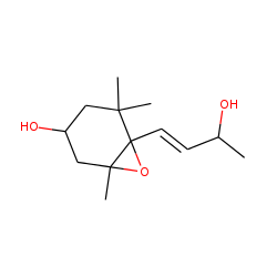 3-hydroxy-5,6-epoxy-«beta»-ionol