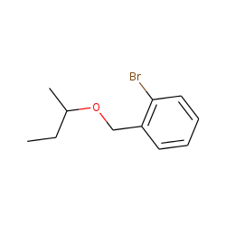 2-Bromobenzyl alcohol, 1-methylpropyl ether