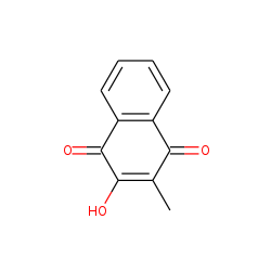 1,4-Naphthalenedione, 2-hydroxy-3-methyl-