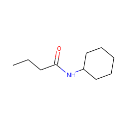 Butanamide, n-cyclohexyl-