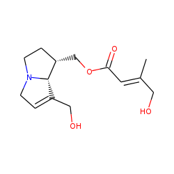 [(1R,8R)-7-(Hydroxymethyl)-2,3,5,8-tetrahydro-1H-pyrrolizin-1-yl] (E)-4-hydroxy-3-methyl-but-2-enoate