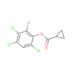 Cyclopropanecarboxylic acid, 2,3,4,6-tetrachlorophenyl ester