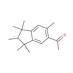 Ethanone, 1-(2,3-dihydro-1,1,2,3,3,6-hexamethyl-1h-inden-5-yl)-