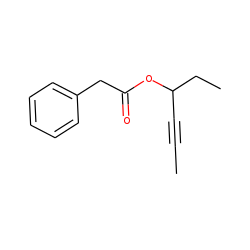 Phenylacetic acid, hex-4-yn-3-yl ester