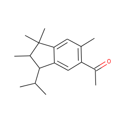 Ethanone, 1-[2,3-dihydro-1,1,2,6-tetramethyl-3-(1-methylethyl)-1H-inden-5-yl]-