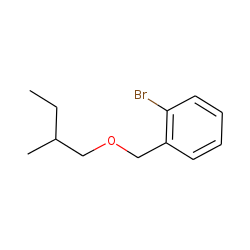 2-Bromobenzyl alcohol, 2-methylbutyl ether