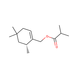 .beta.-Isocyclolavandulyl isobutyrate