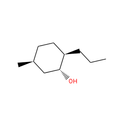 Cyclohexanol, 5-methyl-2-propyl, trans, trans (n-Menthol)