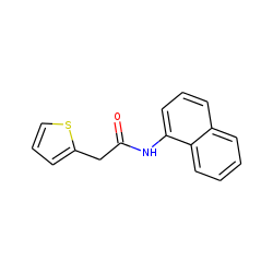 Acetamide, n-(1-naphthyl)-2-(2-thienyl)-