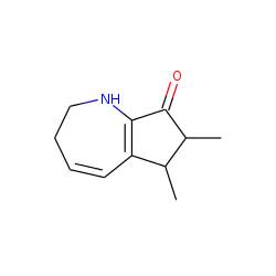 6,7-dimethyl-2,3,6,7-tetrahydro-cyclopent[b]azepin-8(1H)-one