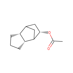 exo-Tricyclo[6,2,1,0(2,6)]decan-8-«beta»-ol, acetate