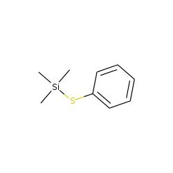Silane, trimethyl(phenylthio)-