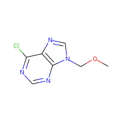 9H-purine, 6-chloro-9-(methoxymethyl)-