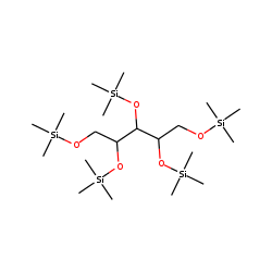 L-(-)-Arabitol, pentakis(trimethylsilyl) ether
