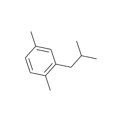 Benzene, 1,4-dimethyl-2-(2-methylpropyl)-