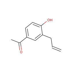 Acetophenone, 3'-allyl-4'-hydroxy-